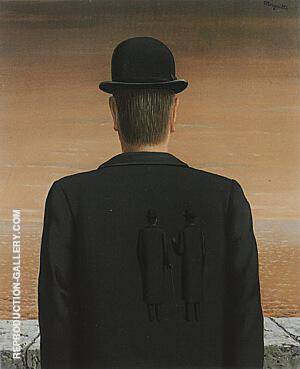 Reproduction of The Spirit of Adventure 1962 by Rene Magritte | Oil Painting Replica On CanvasReproduction Gallery