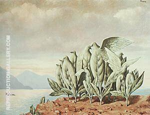 Treasure Island 1942 Painting By Rene Magritte - Reproduction Gallery