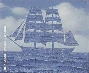 The Seducer, 1953 By Rene Magritte