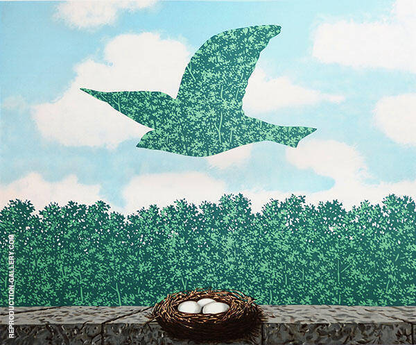Le Printemps - Spring 1965 Painting By Rene Magritte
