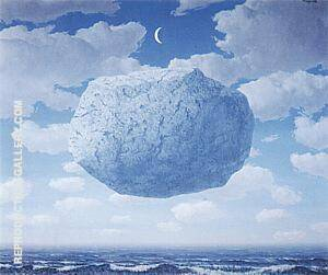 Zeno's Arrow 1964 By Rene Magritte