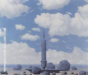 Souvenir of a Journey 1955 Painting By Rene Magritte