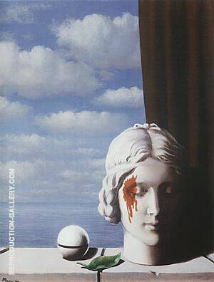 Memory,  1948 By Rene Magritte - Oil Paintings & Art Reproductions - Reproduction Gallery