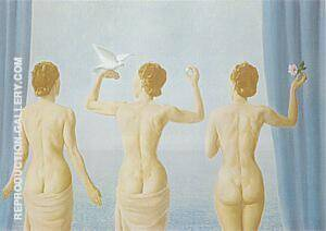The Lull 1941 By Rene Magritte