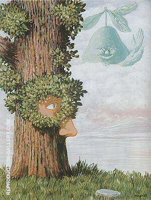 Alice in Wonderland 1945 By Rene Magritte