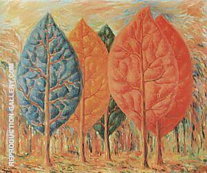 The Fire 1943 By Rene Magritte