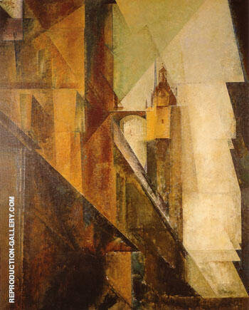 Church of St Mary 1 1929 By Lyonel Feininger