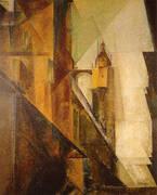Church of St Mary 1 1929 By Lyonel Feininger