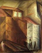 The Studio Window 1919 By Lyonel Feininger