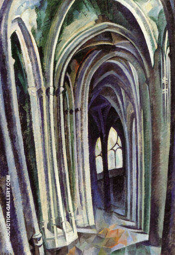 Saint Severin No 1 1909 By Robert Delaunay