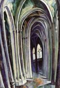 Saint Severin No 1 1909 By Robert Delaunay