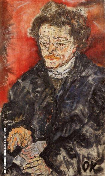 Portrait of the Lawyer Dr Hugo Caro 1910 By Oskar Kokoschka