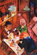Cafe 1916 By George Grosz