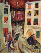 The Street 1915 By George Grosz