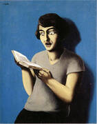 The Subjugated Reader 1928 By Rene Magritte