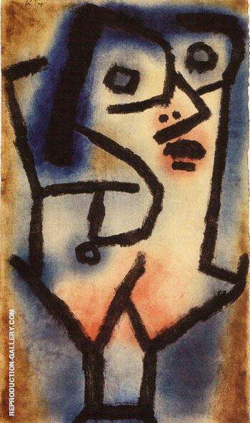 The Second Siren in Alto 1939 By Paul Klee Replica Paintings on Canvas - Reproduction Gallery