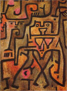 Forest Witches 1938 By Paul Klee