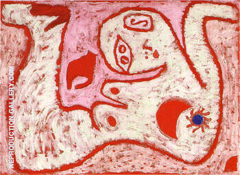 A Woman for Gods 1938 By Paul Klee