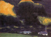 Stormy Landscape 1916 By Emil Nolde