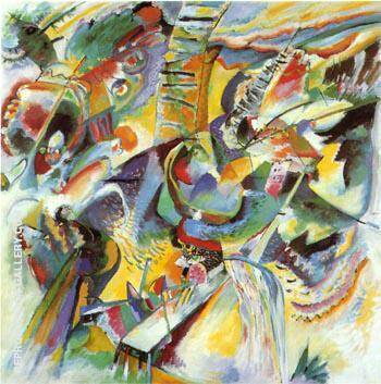 Reproduction of Ravine Improvisation 1914 by Wassily Kandinsky | Oil Painting Replica On CanvasReproduction Gallery