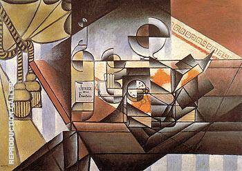 The Watch 1912 By Juan Gris - Oil Paintings & Art Reproductions - Reproduction Gallery