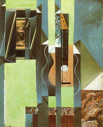 The Guitar 1913 By Juan Gris - Oil Paintings & Art Reproductions - Reproduction Gallery