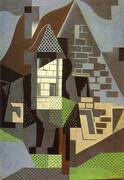 Houses in Beaulieu By Juan Gris