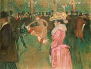 At the Moulin Rouge The Dance 1890 By Henri De Toulouse-lautrec