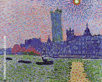 Reproduction of Westminster 1906 by Andre Derain | Oil Painting Replica On CanvasReproduction Gallery