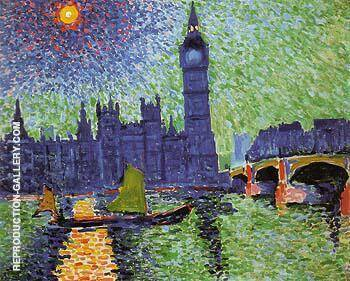Big Ben London 1906 By Andre Derain