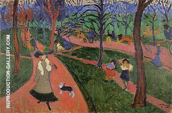 Hyde Park 1906 By Andre Derain - Oil Paintings & Art Reproductions - Reproduction Gallery