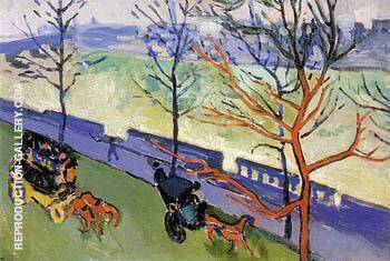 Victoria Embankment 1906 2 By Andre Derain