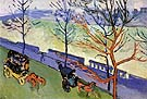 Victoria Embankment 1906 2 By Andre Derain