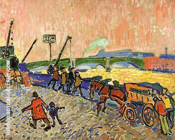 The Banks of the Thames 1906 By Andre Derain