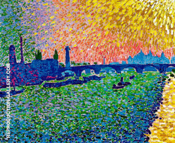 Waterloo Bridge 1906 By Andre Derain