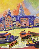 Saint Paul s Cathedral from the Thames 1906 By Andre Derain