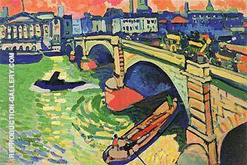 London Bridge 1 1906 Painting By Andre Derain - Reproduction Gallery
