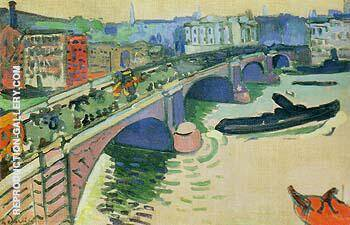 London Bridge 1906 Painting By Andre Derain - Reproduction Gallery