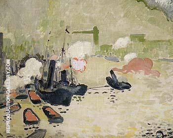 View of the Thames 1906 By Andre Derain