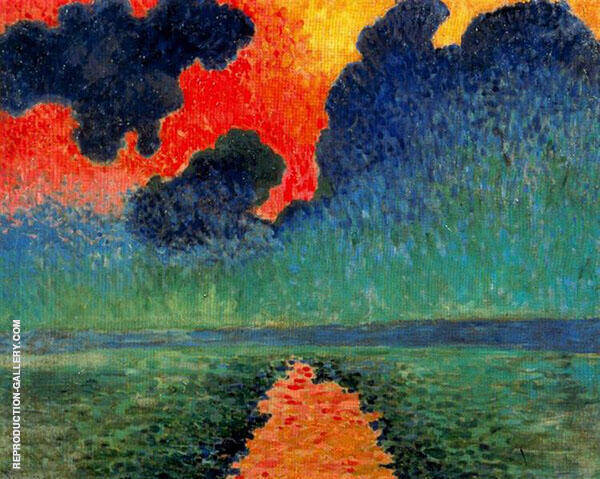Effects of Sunlight on Water 1906 By Andre Derain