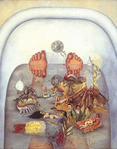 What I saw in the Water 1938 By Frida Kahlo