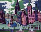 View of Dresden Schlossplatz 1926 By Ernst Kirchner