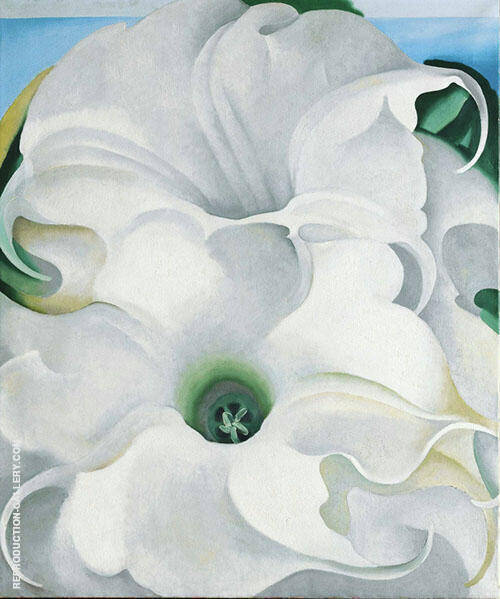 Bella Donna 1939 By Georgia O'Keeffe - Oil Paintings & Art Reproductions - Reproduction Gallery