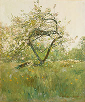Peach Blossoms Villiers le Bel 1887 By Childe Hassam