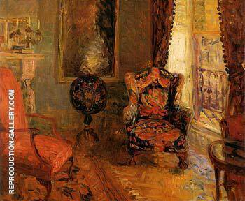 Twenty Three Fifth Avenue Interior 1910 By William Glackens