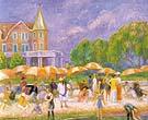 Beach Umbrellas at Blue Point 1916 By William Glackens