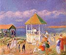 The Bandstand 1919 By William Glackens