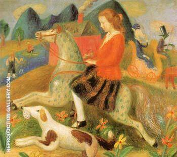 The Dream Ride 1923 By William Glackens