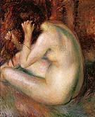 Back of Nude 1930 By William Glackens