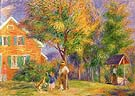 Home in New Hanpshire 1919 By William Glackens